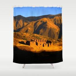 Fin del Dia Shower Curtain