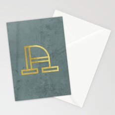 Letter A Day Project - A  Stationery Cards