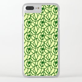 St. Patrick's Day Clovers Clear iPhone Case