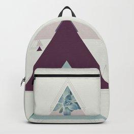 Art deco succulent Backpack