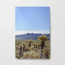 Cholla Cactus Garden Metal Print