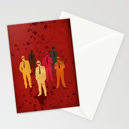 Six Angry Dogs Stationery Cards