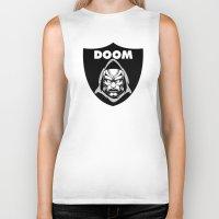 doom Biker Tanks featuring Doom by Buby87