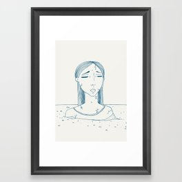 Statue. Framed Art Print