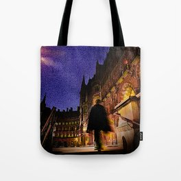 Victorian London Architecture Tote Bag