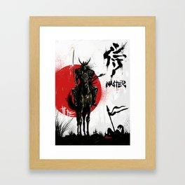 Samurai Master Framed Art Print