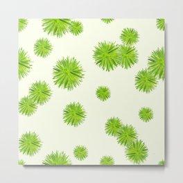 Green Yucca Metal Print