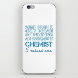 CHEMIST'S DAD iPhone Skin