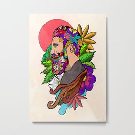 Nature Man Metal Print