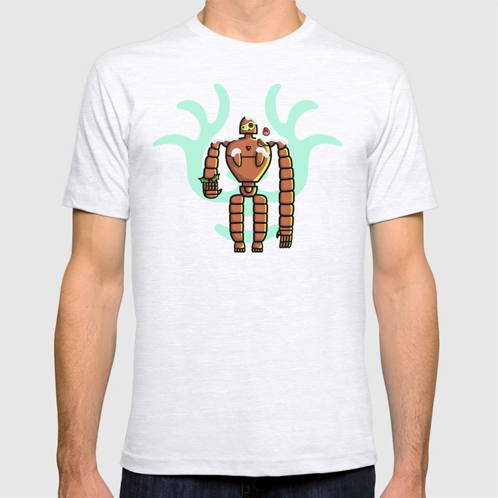 Christmas Laputa Robot T-shirt