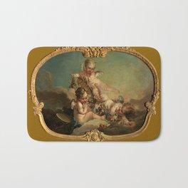 """François Boucher """"Allegory of Autumn"""" Bath Mat"""