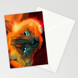 Mystic kitty Stationery Cards