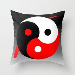 Trilogie universelle Throw Pillow