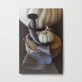Hudson Valley Autumn Still Life Metal Print
