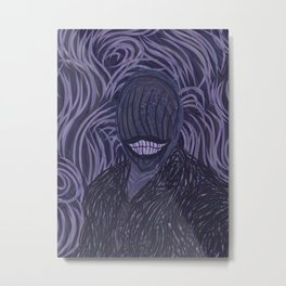 The Second Smile Metal Print