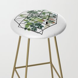 greenhouse with plants Bar Stool
