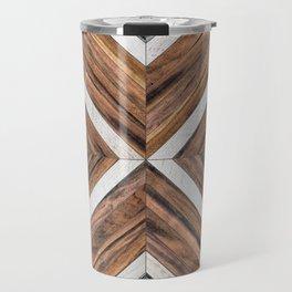 Urban Tribal Pattern No.4 - Wood Travel Mug