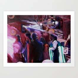 The Wedding Dancers Art Print
