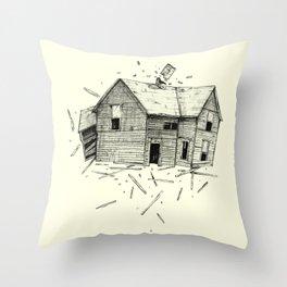 home blown Throw Pillow