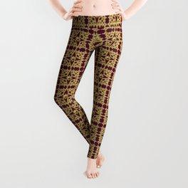 Golden Star Mosaic Leggings