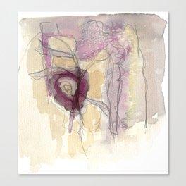 Feelings of the Flower Canvas Print