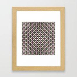 Hanami Nummies | Black Framed Art Print