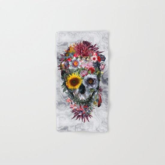 Voodoo Skull Hand & Bath Towel