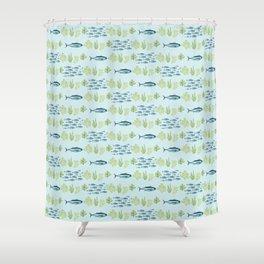 Too Much Mercury Shower Curtain