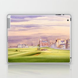 St Andrews Golf Course Scotland 17th Green Laptop & iPad Skin