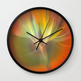 abstract lighteffects -4- Wall Clock