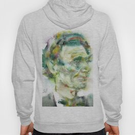 ABRAHAM LINCOLN - watercolor portrait.2 Hoody