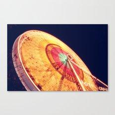 La Grande roue Canvas Print