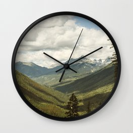 The Great Green Unknown Wall Clock