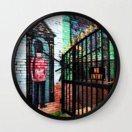 British Guard Wall Clock