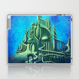 Mysterious Fathoms Below Laptop & iPad Skin