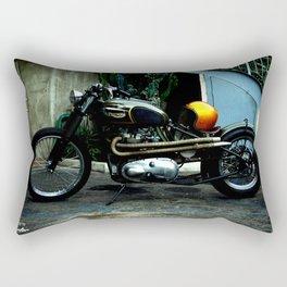 CUSTOM TRIUMPH BOBBER Rectangular Pillow