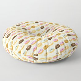 Eating Donuts Floor Pillow