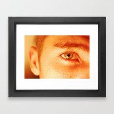 aye Framed Art Print