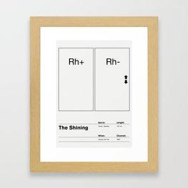 The Shining Framed Art Print
