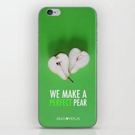 We Make a Perfect Pear iPhone Skin