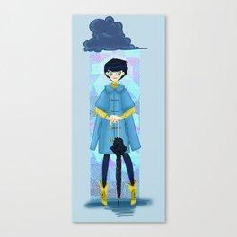 Buy Cape, Wear Cape, Rain Canvas Print