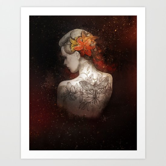 There Is Beauty in here, too Art Print