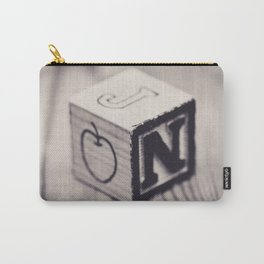 Toy cube... Monochrom Carry-All Pouch