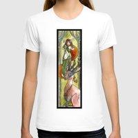 jackalope T-shirts featuring Jackalope by Mathilde Fontano
