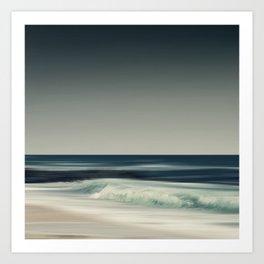 Cristal Surf Art Print