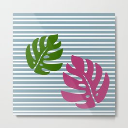 Calm leaf Metal Print
