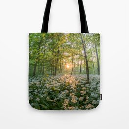 Bear's Garlic Forest Tote Bag