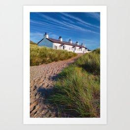 Welsh Cottages Art Print