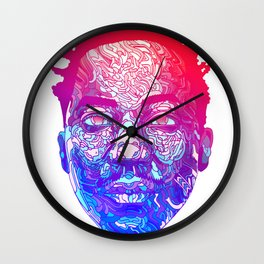 Qtip Portrait Wall Clock