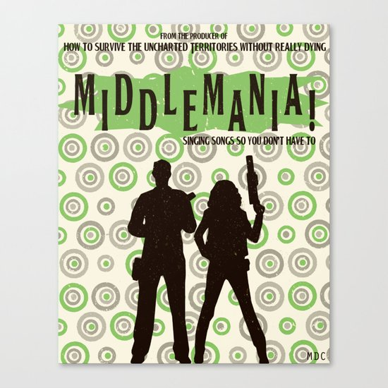 Middlemania! Canvas Print